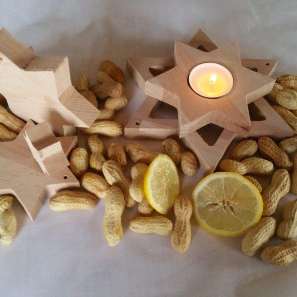 Weihnachtsdeko-Set Sterne