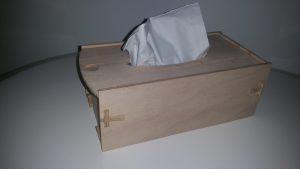 Taschentuch-Box aus Buche