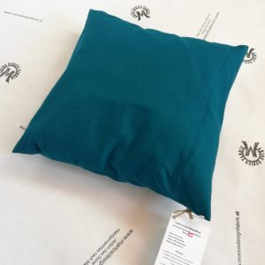 Zirbenkissen Zierkissen Dekokissen 30×30 cm Füllung aus Zirbenspänen