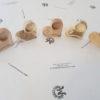 Dekoherz Tischdeko Teelichthalter aus Holz