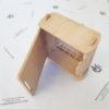 Klappbox mini mit Deckel 15cm x 15cm aus Holz